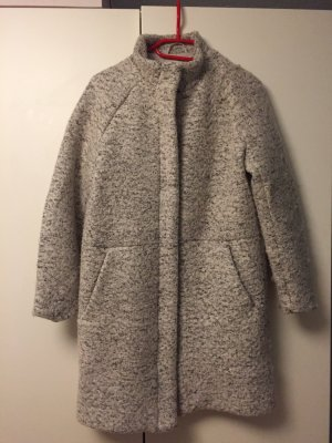 H&M L.O.G.G. Oversized jas grijs-zwart