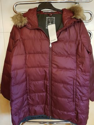 Boysen's Hooded Coat bordeaux polyester
