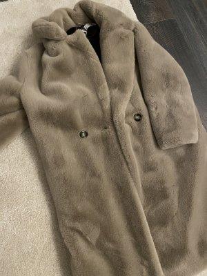 Mango Winter Coat cream-beige
