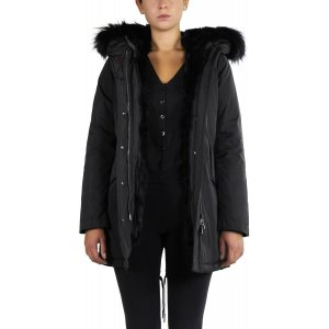 Canadian Classics Winter Jacket black fur