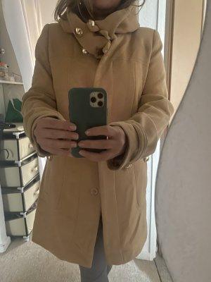 Płaszcz zimowy beżowy-jasnobeżowy