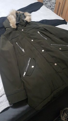 C&A Yessica Winter Jacket green grey