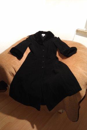 Apart Manteau d'hiver noir