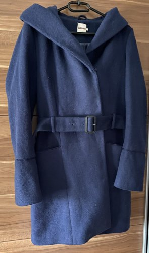 Kiomi Abrigo de invierno azul oscuro