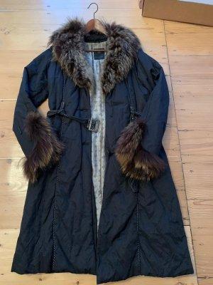 Milestone Winterjas donkerblauw-lichtblauw