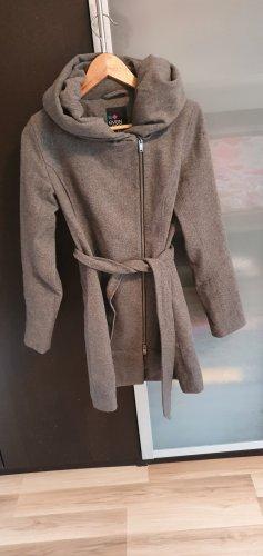 Even & Odd Winter Coat grey brown