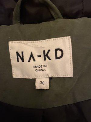 Nakd Long Jacket dark green