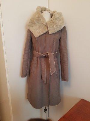 Wintermantel Fake Fur