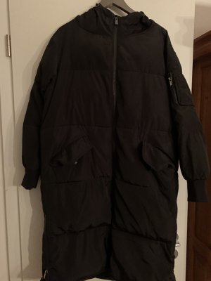 Hallhuber Oversized jas zwart