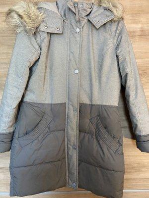 Hollister Manteau en fausse fourrure gris-gris clair