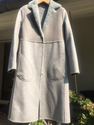 Strenesse Płaszcz zimowy jasnoszary-szary Moher