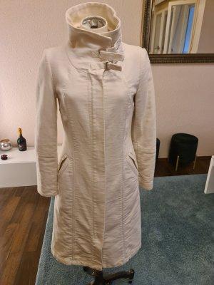 Mango Suit Robe manteau crème