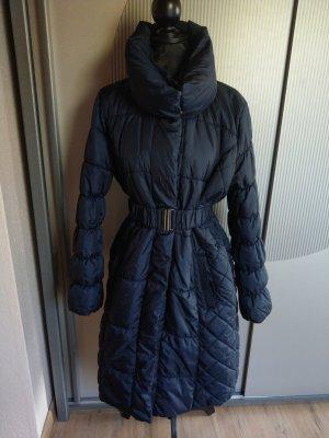 Wintermantel Mantel blau dunkelblau mamalicious