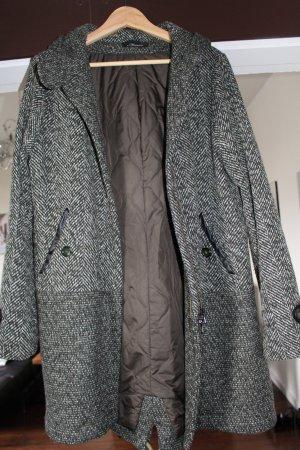 Mason's Manteau à capuche vert forêt-vert olive