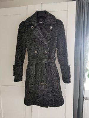 Mexx Manteau d'hiver blanc-noir