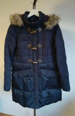 Street One Manteau d'hiver bleu foncé