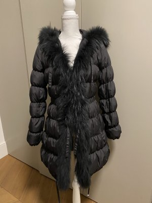 Blugirl Folies Winter Coat black pelt