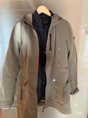 Frieda & Freddies New York Manteau à capuche noir-bronze