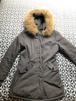 Attentif Manteau d'hiver gris