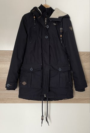 Ragwear Cappotto invernale blu scuro