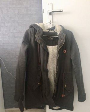 Review Hooded Coat multicolored