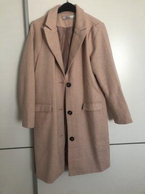 JustFab Wool Coat dusky pink