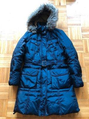 s.Oliver Selection Manteau en duvet bleu polyamide