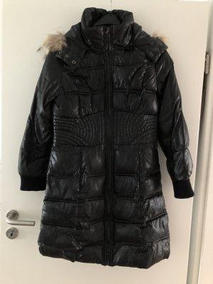Naf naf Hooded Coat black