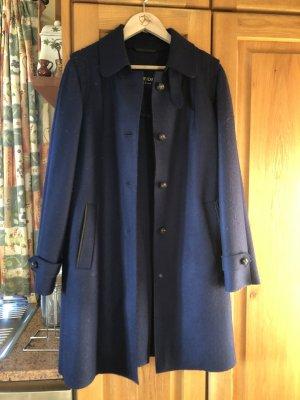 Schneiders Salzburg Cappotto in pile blu scuro