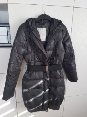 Benetton Down Coat dark grey
