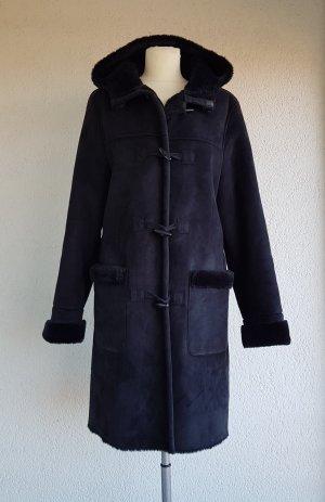 Brookshire Manteau en fausse fourrure noir