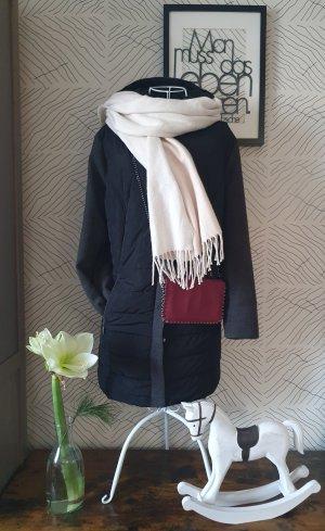 Gina Laura Abrigo de invierno negro-gris antracita