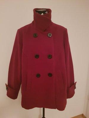 John Baner Abrigo de invierno rojo neón-rojo oscuro