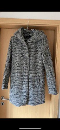 Only Winterjas zwart-grijs