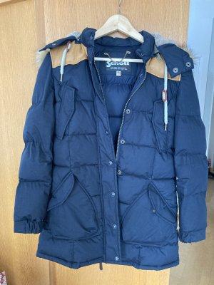 Schott Cappotto invernale blu scuro Poliestere