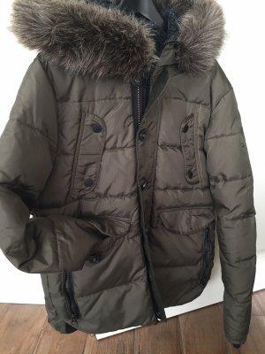 Superdry Down Jacket grey brown