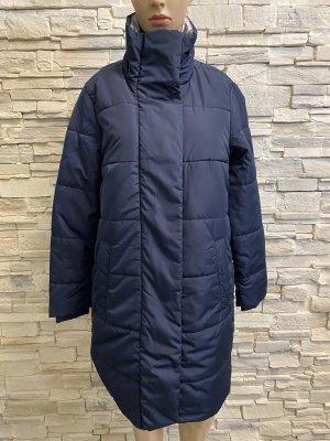 Triangle Manteau d'hiver bleu foncé