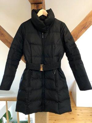 Zara Basic Short Coat black polyester