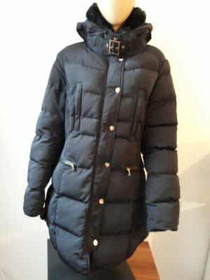 Cappotto invernale blu-blu scuro