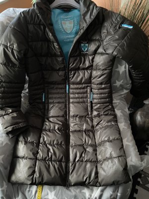 Cova Quilted Coat multicolored