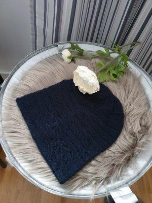 keine Marke Knitted Hat dark blue