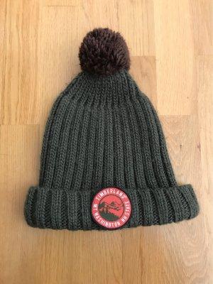 Timberland Knitted Hat khaki-dark brown
