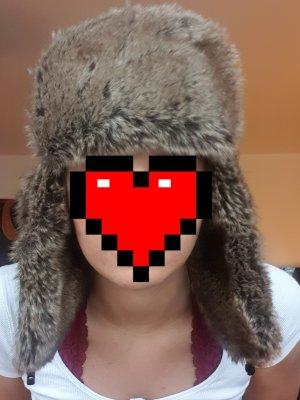 keine Fur Hat brown