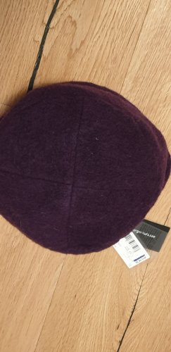 Seeberger Chapeau en laine violet