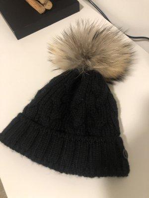 Bogner Sombrero de punto negro