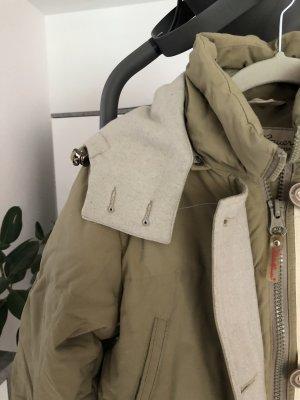 Eddie Bauer Gewatteerde jas beige-zandig bruin