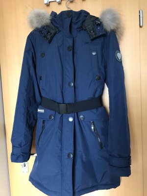 Geographical Norway Parka azul oscuro