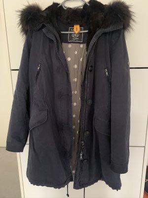 Blonde No. 8 Cappotto invernale blu-grigio chiaro Cotone