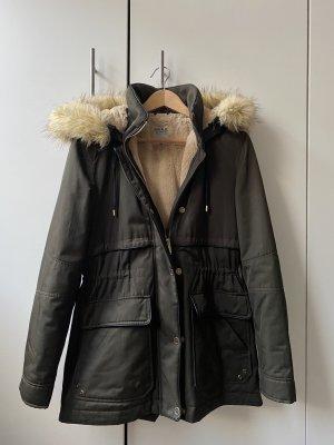 Winterparka faux fur