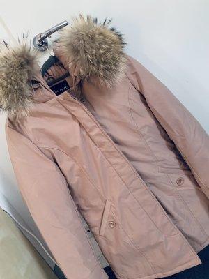EightyFive Winter Coat dusky pink